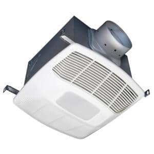 ENERGY STAR® Certified Ultra Quiet Variable Dual Speed Ceiling Bathroom Exhaust Fan with LED Light