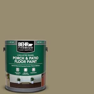 1 gal. #PPU8-04 Urban Safari Low-Lustre Enamel Interior/Exterior Porch and Patio Floor Paint