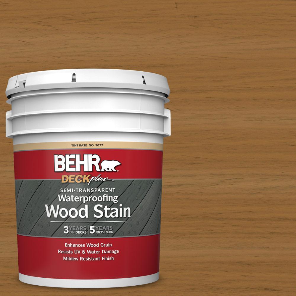 5 gal. #ST-146 Cedar Semi-Transparent Waterproofing Exterior Wood Stain