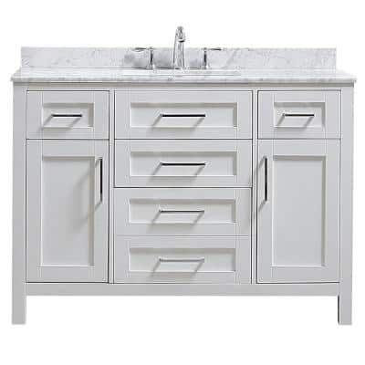 48 Inch Vanities Bathroom, 48 X 19 Bathroom Vanity