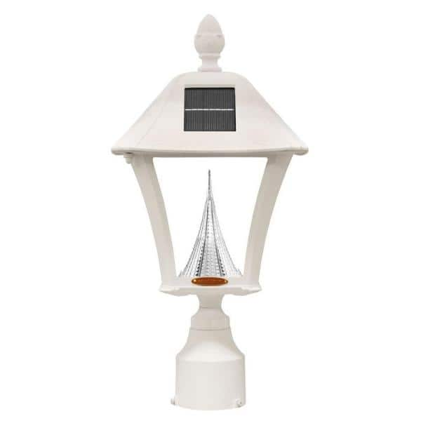 Gama Sonic Baytown Solar White Outdoor, Baytown Solar Lamp