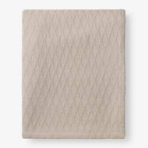 Cotton Bamboo Sand King Woven Blanket