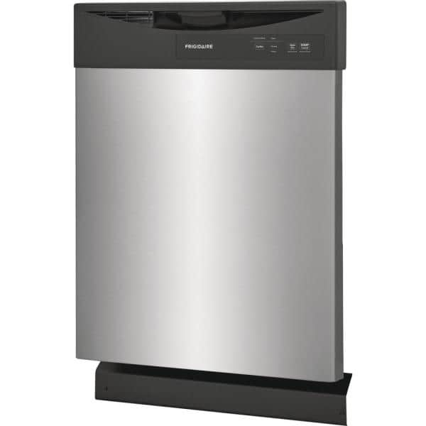 Frigidaire 24 in. Stainless Steel Front Control Built-In Dishwasher-FDPC4221AS  - The Home Depot
