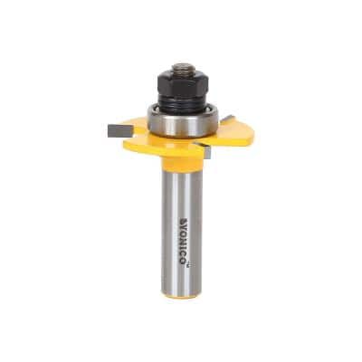 Biscuit Joint Slot Cutter #20 1/2 in. Shank Carbide Tipped Router Bit