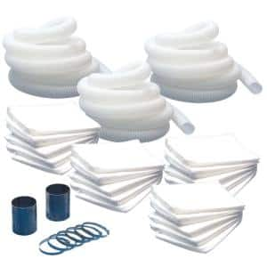 4 in. Vacuum Hose and Accessory Kit