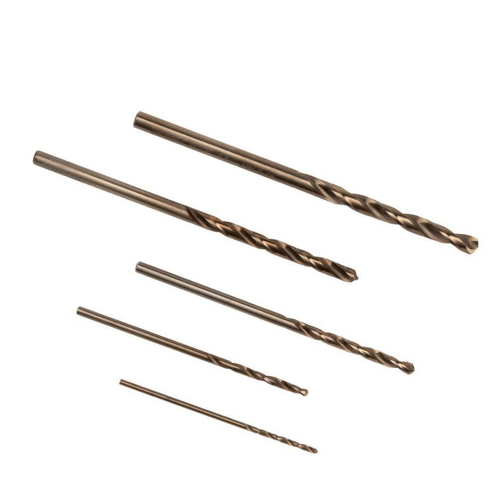 set di 5 Preamer M35/Cobalt step drill bit industriale con spirale