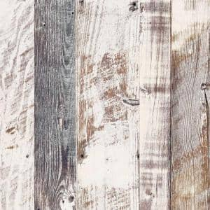 4 ft. x 8 ft. Laminate Sheet in Antique Limed Pine with Virtual Design Gloss Finish