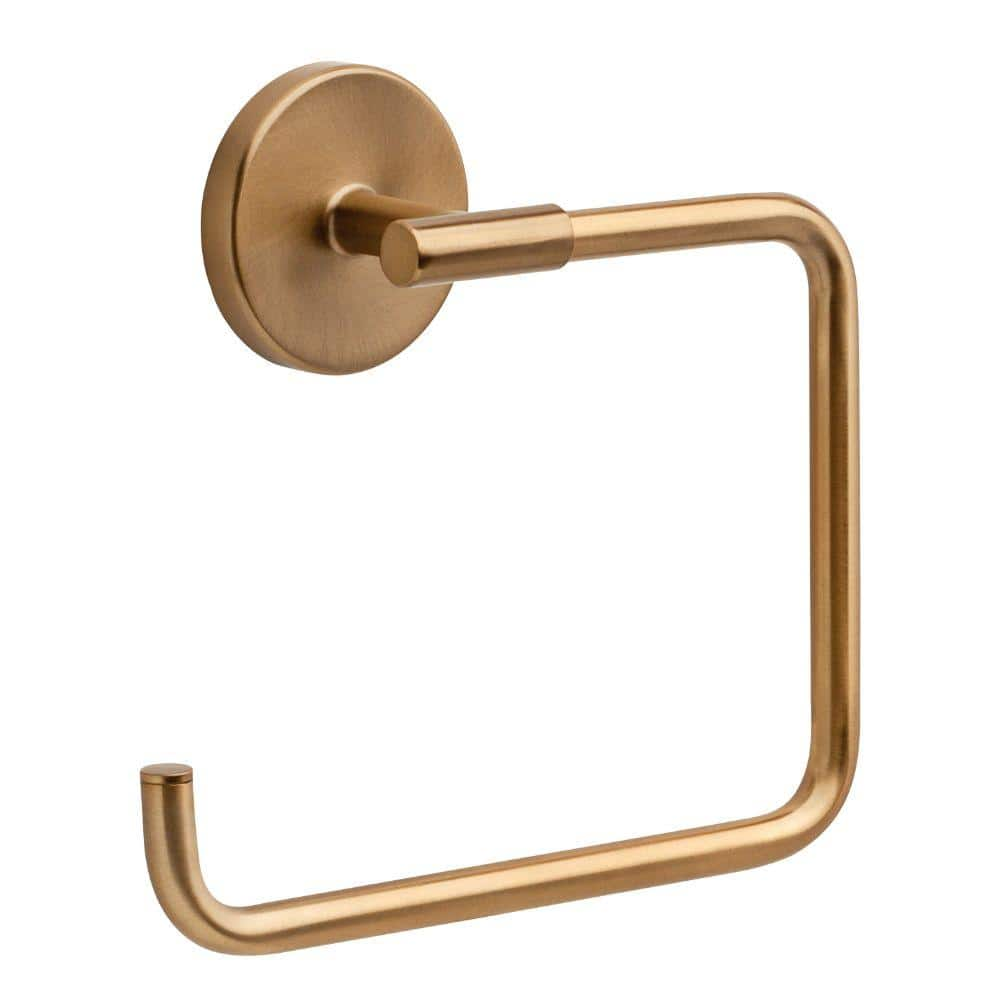 Delta Trinsic Open Towel Ring in Champagne Bronze 759460-CZ