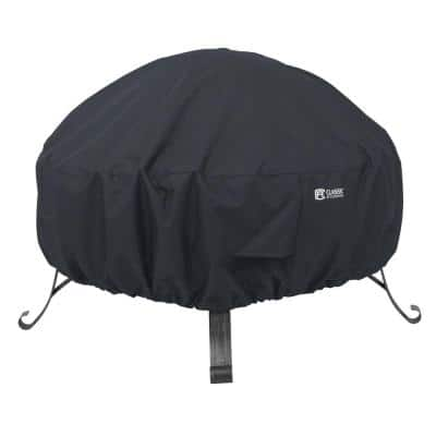 Small Round Full Coverage Fire Pit Cover