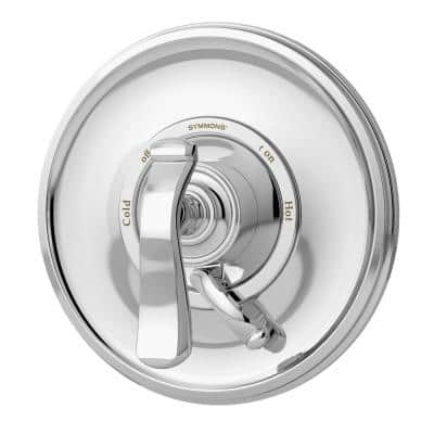 Winslet 1-Handle Wall Mounted Tub/Shower Valve Trim Kit in Polished Chrome (Valve Not Included)