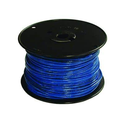 500 ft. 16 Blue Stranded CU TFFN Fixture Wire