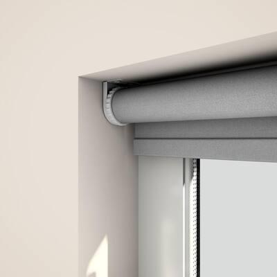 Cordless Light Filtering Fabric Solar Roller Shade