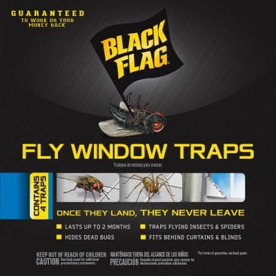 Fly Window Trap (4-Count)