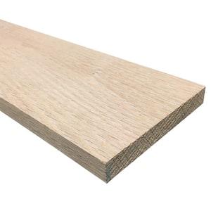 1/2 in. x 4 in. x 4 ft. S4S Oak Board