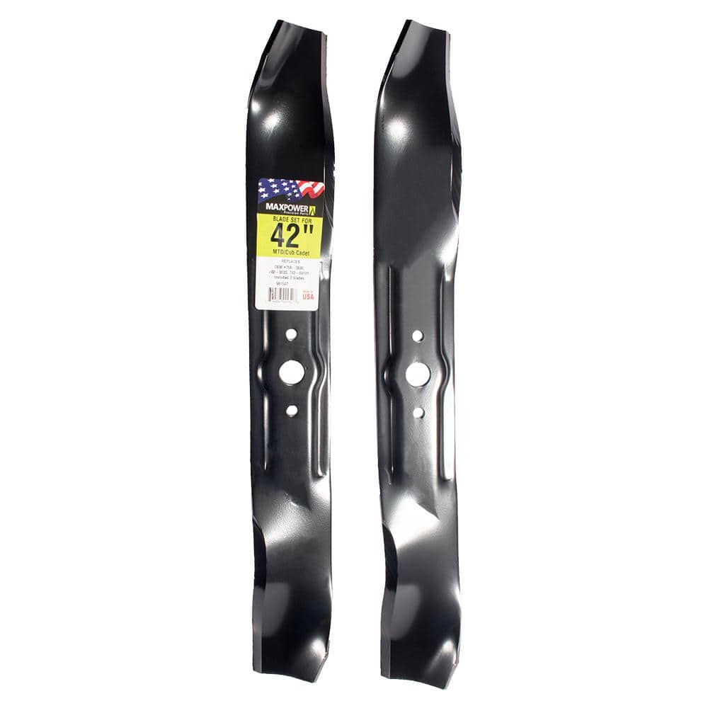 """6-Pack 3 in 1 Mulching Blades Replaces Cub Cadet 759-3829 742-3032 for 38/"""" Deck"""