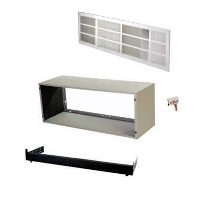 PTAC All-In-One Wall Sleeve, Rear Grille, Sub-Base and Drain Kit