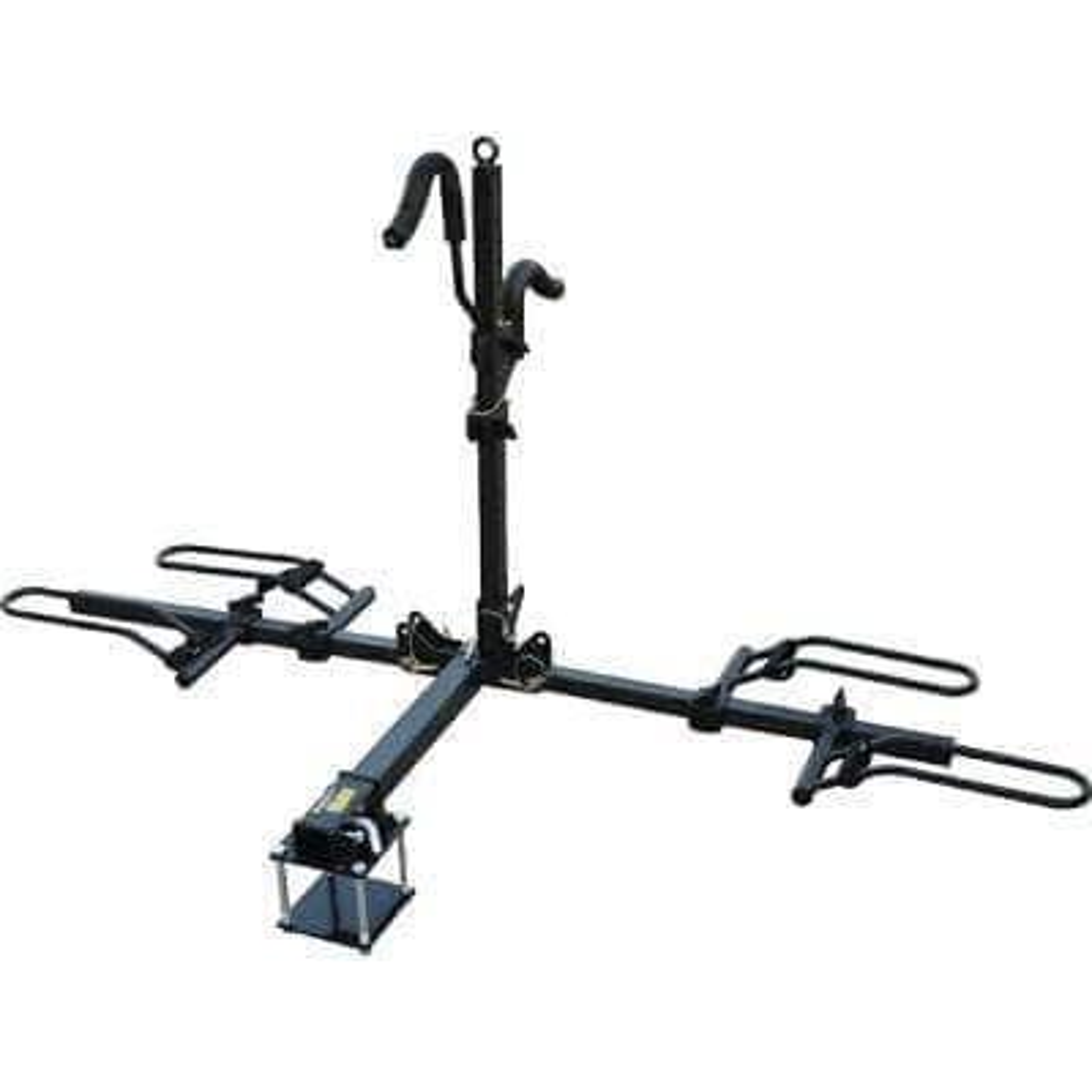 2-Bike Capacity Platform Mount Bike Rack