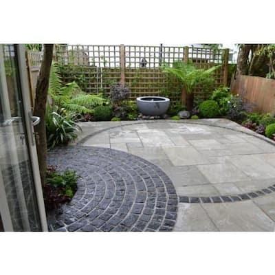 Cobblestone 4 in. x 4 in. x 4 in. Black Granite Edging (200-Pieces/66 lin. ft./Pallet)