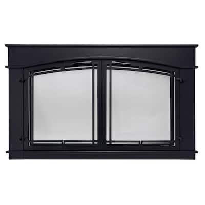 Fieldcrest Large Glass Fireplace Doors