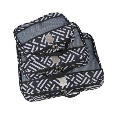 3-Piece Jenni Chan Signature Packing Cubes Set