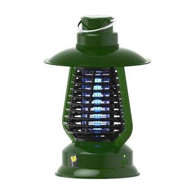 2000-Volt Cordless Bug Zapper Insect Killer with White LED Light, Half Acre Coverage