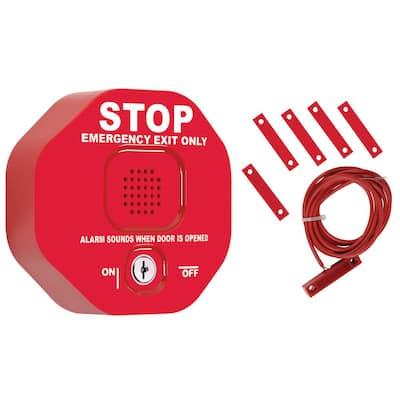 Wireless Exit Stopper Multifunction Door Alarm System for Double Doors