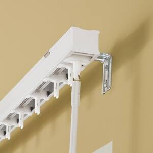 White Vertical Blind Head Rail For Sliding Door or Window - 53 in. W