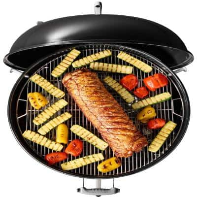 22 in. Original Kettle Premium Charcoal Grill in Copper with Built-In Thermometer