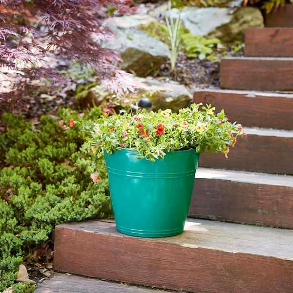 Color : Brown for Toutes Les Fleurs De Plantes Dint/érieur Jardin Moderne D/écoratif Pot De Fleurs Auto-arrosant avec Indicateurs De Niveau deau ZXD Pot /À R/éserve deau