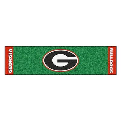 NCAA University of Georgia 1 ft. 6 in. x 6 ft. Indoor 1-Hole Golf Practice Putting Green