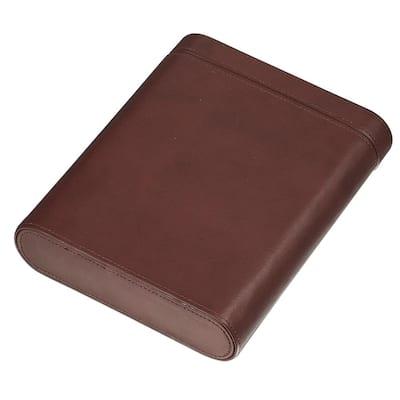 Larsen Dark Leather Five Cigar Travel Case