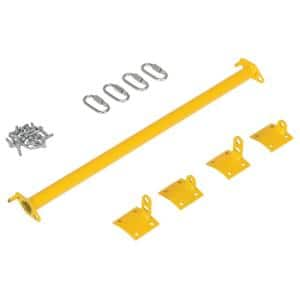 Dock Chain Barrier Bollard Conversion Hardware Kit