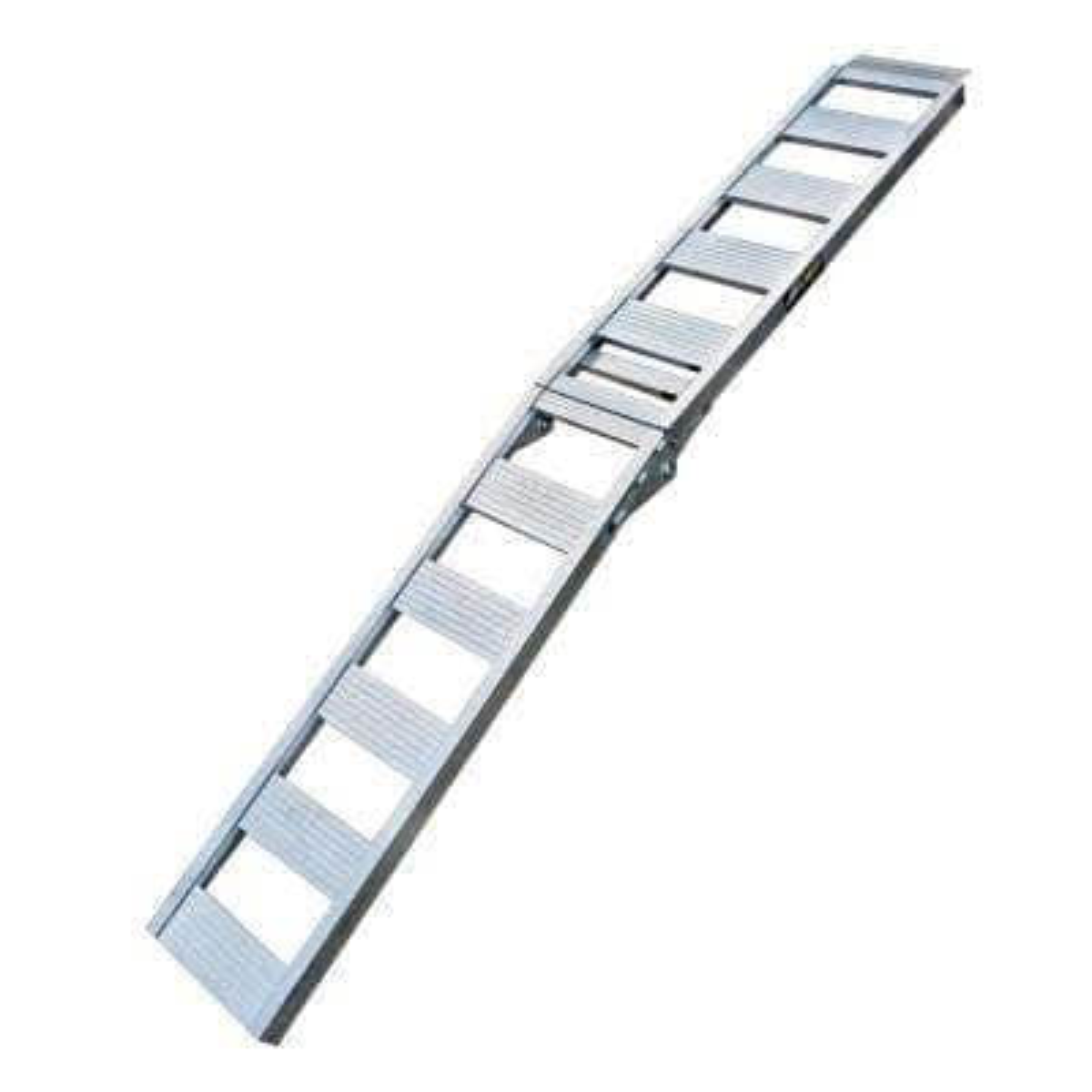 85 in. x 12 in. Aluminum Folding Ramps