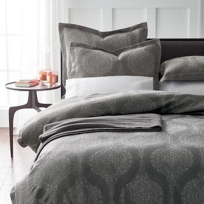 Bellamy Floral Cotton Blend Duvet Cover