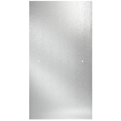 24-3/8 in. x 63-1/8 in. x 1/4 in. (6 mm) Frameless Pivot Shower Door Glass Panel in Rain (For 27-30 in. Doors)