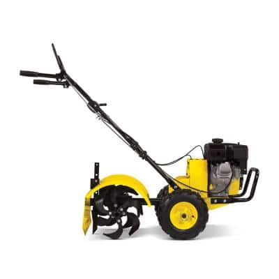 19 in. 212cc 4-Stroke Gas Garden Counter Rotating Rear Tine Tiller with Self-Propelled Agricultural Tires