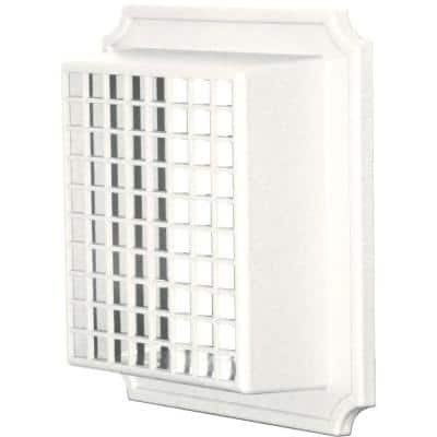 Exhaust Vent Small Animal Guard #123-White