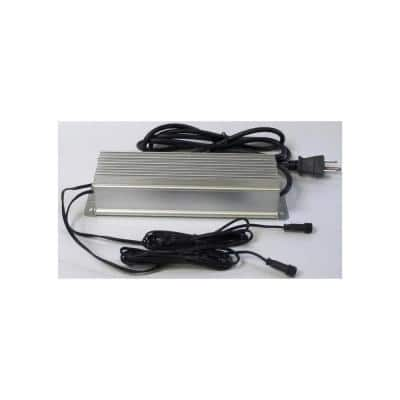 6.5 in. x 2.75 in. 100-Watt Faux Stone Deck Lighting Low Voltage Transformer