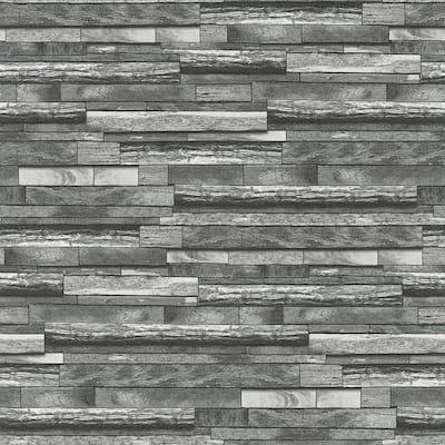 Federico Grey Slate Strippable Sample Covers 0.56 sq. ft.