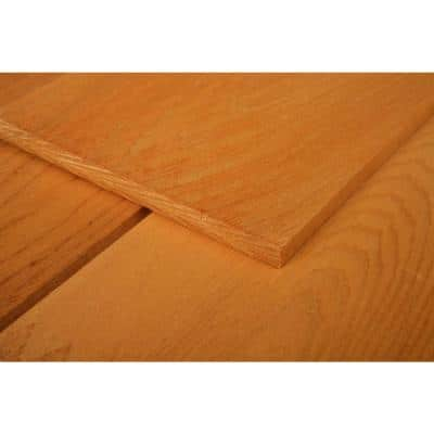 16 in. Maximum Natural Tone Eastern White Cedar Shingle Siding (25 sq. ft./Box)
