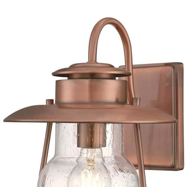 Westinghouse Santa Fe Um 1 Light, Copper Outdoor Lighting Fixtures