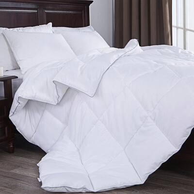 Year Round Warmth White Full/Queen Down Alternative Comforter