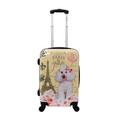 Paris 20 in. Hardside Carry-On Luggage