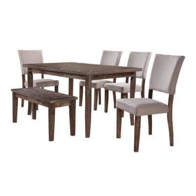 Mindy 6 Pcs Dining Set