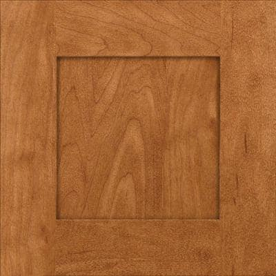 Hayward 14 5/8 x 14 5/8 in. Cabinet Door Sample in Praline