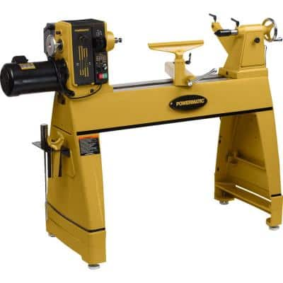 220-Volt 2HP 1PH Lathe with Risers