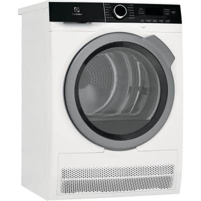 IQ-Touch 24 in. 4.0 cu. ft. White Electric Ventless Dryer, ENERGY STAR