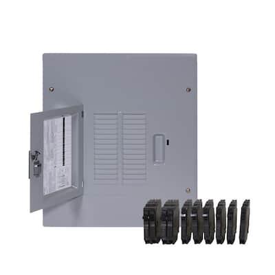 PowerMark Gold 125 Amp 14-Space 24-Circuit Indoor Main Lug Value Kit Includes Select Circuit Breaker