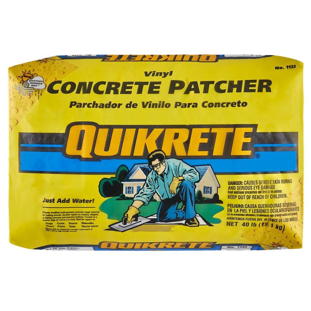 Quikrete 40 Lb Vinyl Concrete Patch