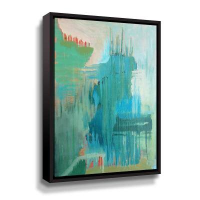 Substance' by Carolyn O'Neill Framed Canvas Wall Art
